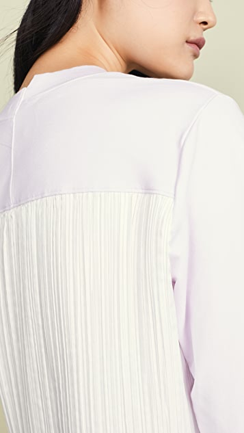 Clu Pleated Back Pullover