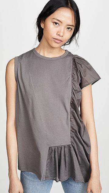 Clu T-Shirt With Ruffle Detail