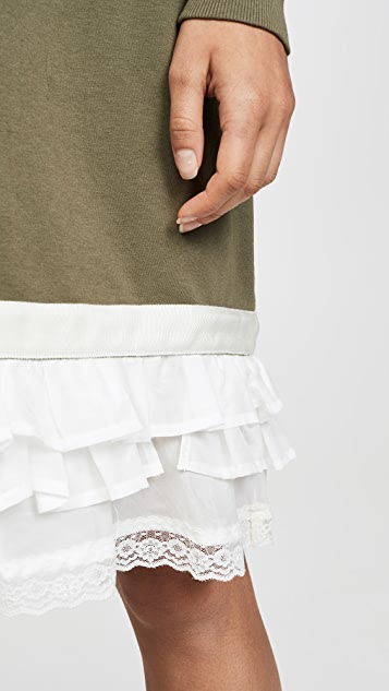 Clu Платье с декоративной отделкой