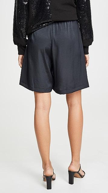 Clu Sequin Paneled Shorts