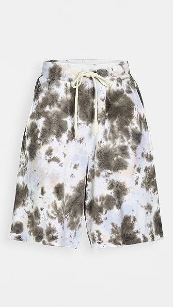 Clu 扎染短裤