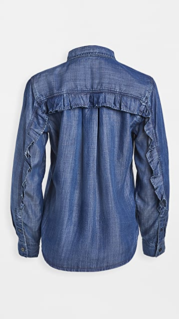 Clu 青年布女式衬衫