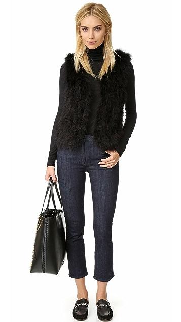 Club Monaco Violet Feather Vest