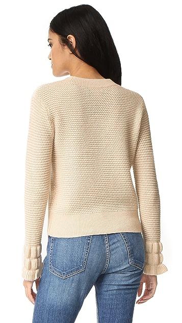 Club Monaco Darja Sleeve Interest Sweater