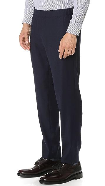 Club Monaco Crepe Elastic Dress Pants