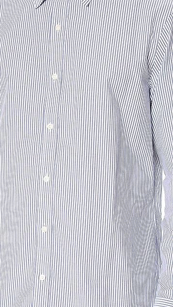 Club Monaco Slim Dress Pinstripe Poplin Shirt