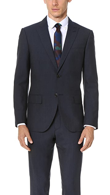 Club Monaco Grant Peak Lapel Suit Blazer