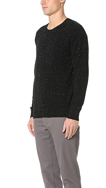 Club Monaco Cashmere Donegal Crew Sweater