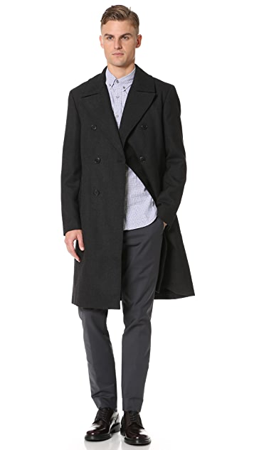 Club Monaco Officer Coat
