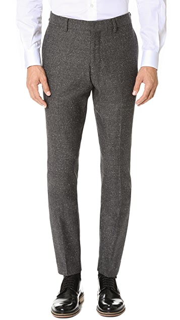 Club Monaco Grant Herringbone Trousers