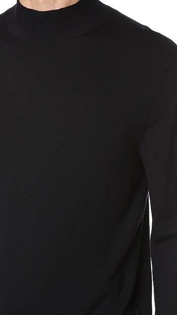 Club Monaco Marled Mockneck Sweater