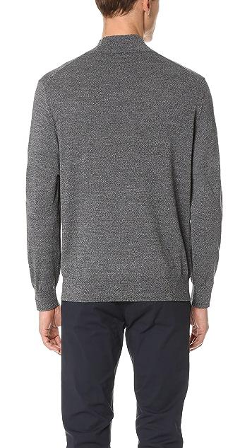 Club Monaco Marled Mock Neck Sweater