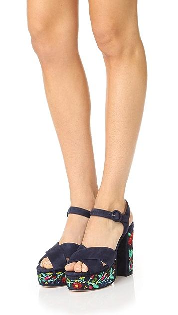 Club Monaco Rosalinde Platform Sandals