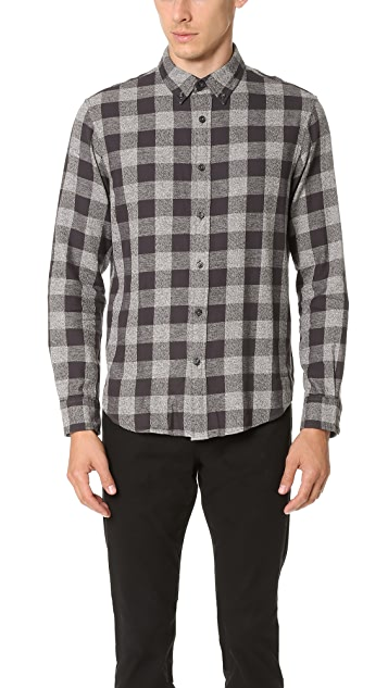 cc20c2f535 Club Monaco Slim Jaspe Check Shirt