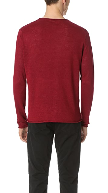 Club Monaco Lightweight Linen Sweater