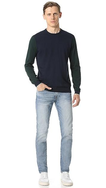 Club Monaco Super Slim Vintage Wash Denim Jeans