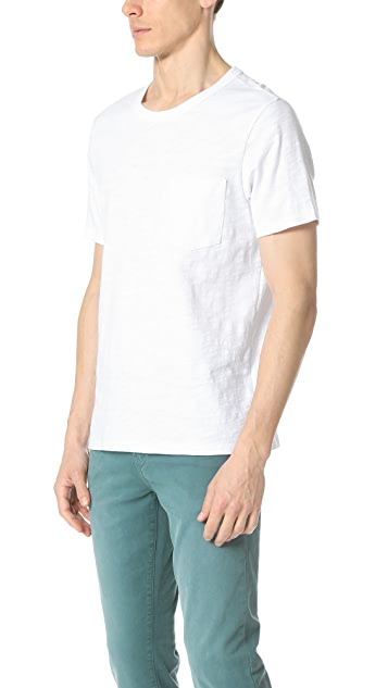 Club Monaco Slub Pocket Tee