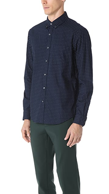 Club Monaco Geo Dot Shirt