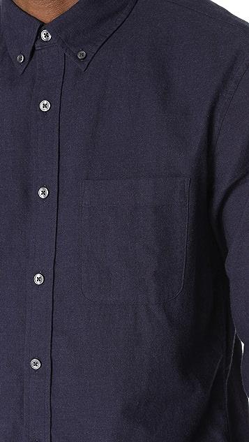 Club Monaco Brushed Solid Shirt