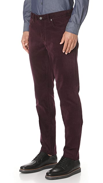 Club Monaco Lux 5 Pocket Corduroy Pants