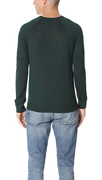 Club Monaco Lux Merino Crew Neck Sweater