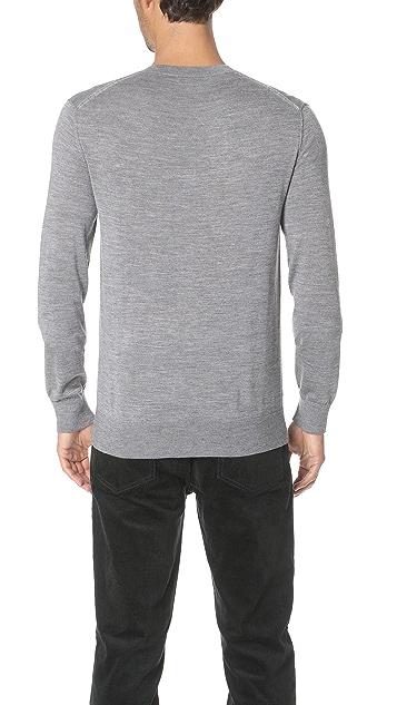 Club Monaco Lux Merino Crew Neck Sweater