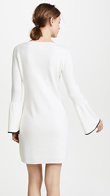 Club Monaco Wioletta Tipped Dress