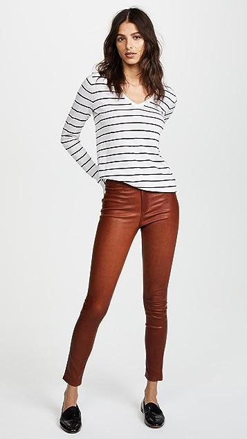 Club Monaco Agnes Stripe Sweater