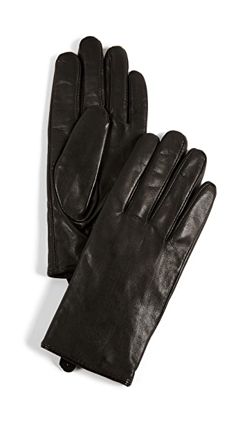 Club Monaco Claudia Tech Leather Gloves