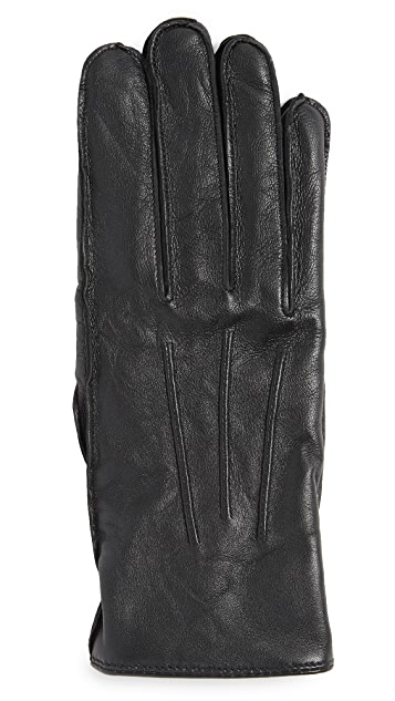Club Monaco Refined Leather Gloves