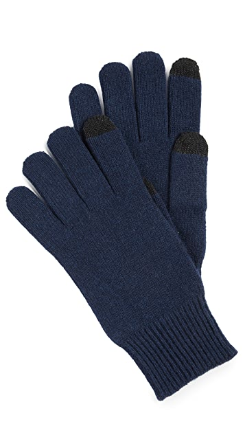 Club Monaco Cashmere Smart Gloves