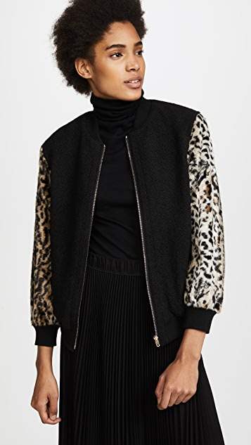 Club Monaco Tay Bomber Jacket
