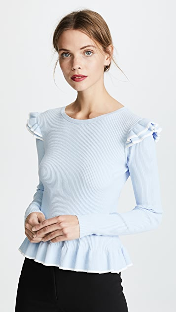 Club Monaco Skarlie Tipped Sweater