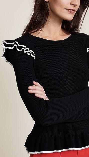 Club Monaco Karli Tipped Sweater