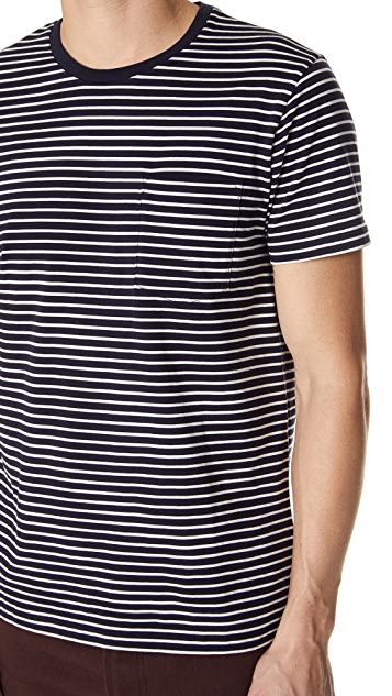 Club Monaco Williams Pocket Crew Tee
