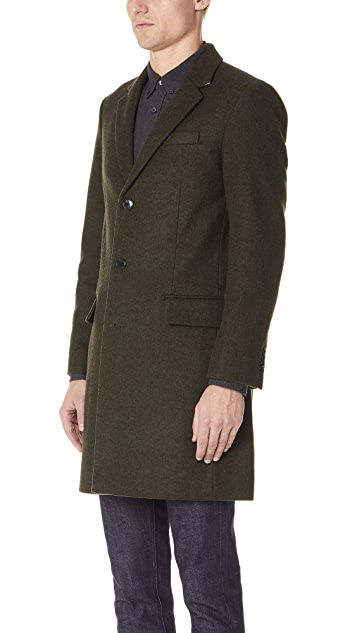 Club Monaco Chesterfield Topcoat