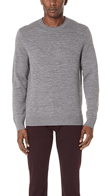 Club Monaco Double Knit Roll Neck Sweater