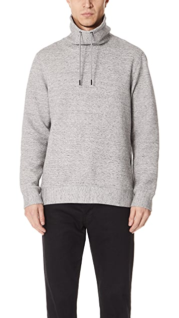 Club Monaco Funnel Neck Top