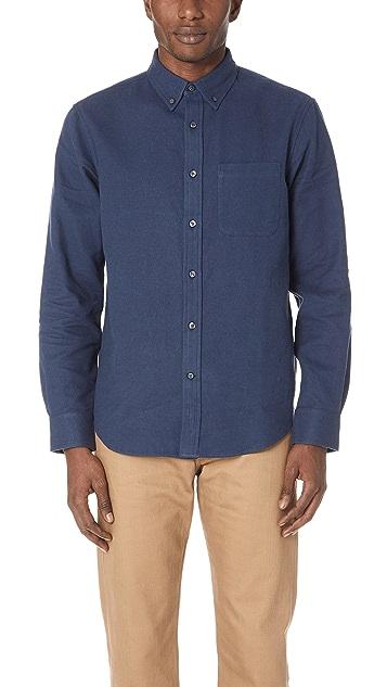 Club Monaco Doubleface Twill Shirt