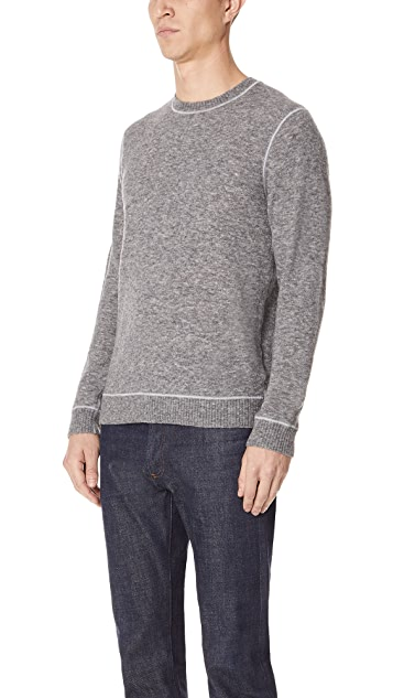 Club Monaco Textured Soft Wool Crew Sweater