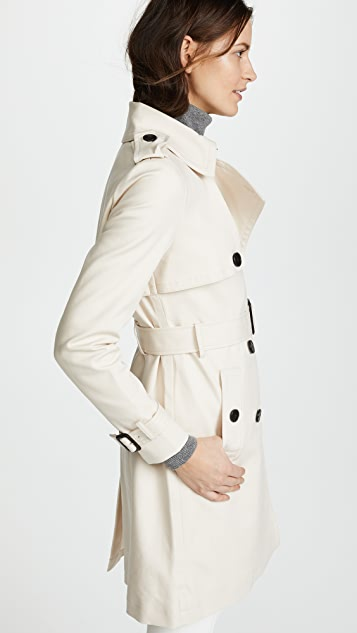 Club Monaco Matie Trench Coat