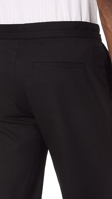 Club Monaco Pleated Twill Trousers