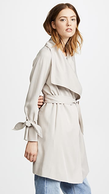 Club Monaco Ellayne Trench Coat