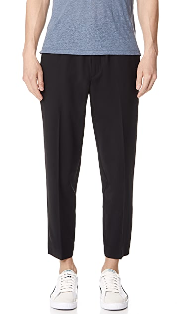 Club Monaco Synth Rib Dress Trousers
