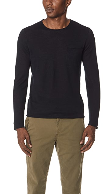 Linen Rollneck Sweater by Club Monaco