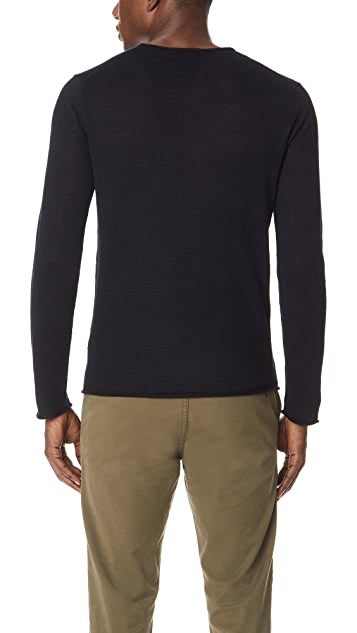 Club Monaco Linen Rollneck Sweater