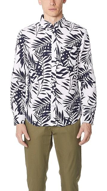 360e97be Club Monaco Linen Aloha Shirt | EAST DANE