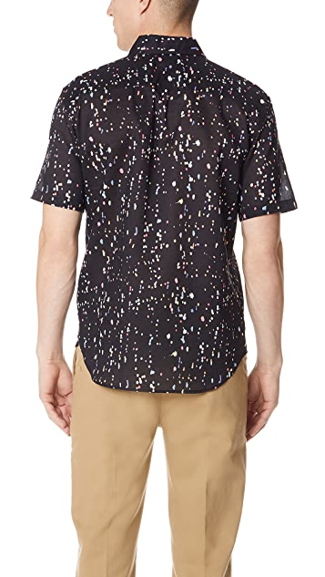 Club Monaco Confetti Shirt