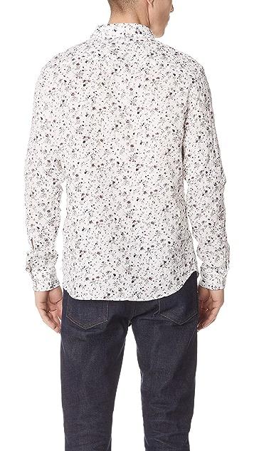 Club Monaco Duo Flower Shirt