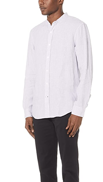Club Monaco Houndstooth Shirt